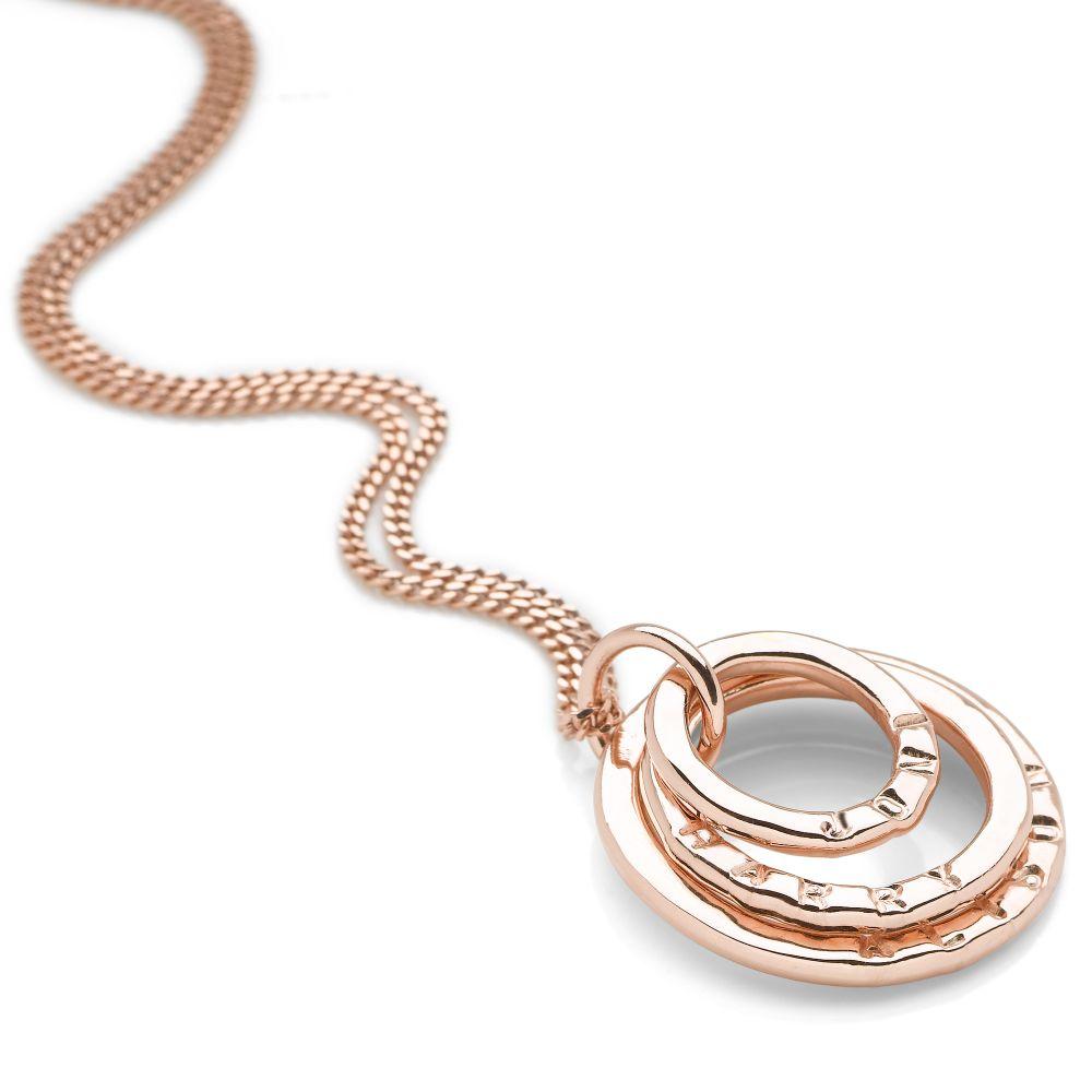 Personalised name pendant rose gold plate silver pendants personalised name pendant rose gold plate alternative image aloadofball Gallery