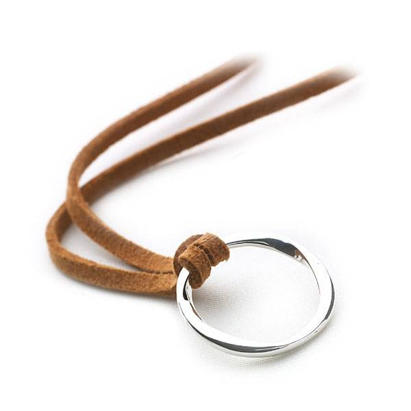 Sweet Evolution Pendant (Leather Thong) - Silver Pendants