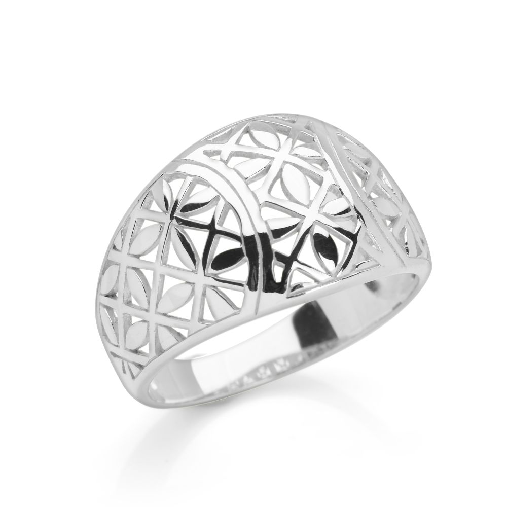 mosaic ring silver rings silver by mail